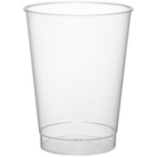 One Japanese clear hard Cup 240ml 25
