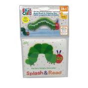 Kids Preferred World of Eric Carle Bath Set, Caterpillar Book & Squirty