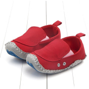 Exteren Lovely Toddler First Walkers Baby Shoes Round Toe Flats Soft Slippers Shoes