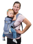 8 in 1 All-Carry Positions Baby Carrier, Top Brand & #1 Quality, Convertible & Perfect for All Seasons, Great Shower and Holiday Gift, Ideal for Moms & Dads