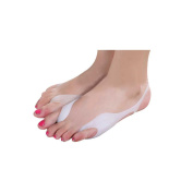 Soft Silicone, Big-to-Pinky Toe Double Bunion Guard Sling| Wrap-around Protection and Pain Relief