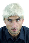 WIG ME UP ® - WL-3037-88 Men Gents Quality Wig short straight very bright blond