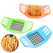New Useful Stainless Steel Vegetable Potato Slicer Dicer Xshuai Food Chopper Chips Cuber Cutter Kitchen Cutting Tool