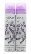 Yardley English Lavender Body Spray, 75 ml, Pack of 2