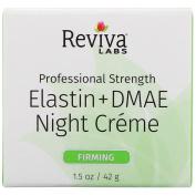 Reviva Labs, Elastin + DMAE Night Creme, 45ml