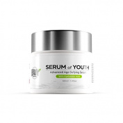 SERUM OF YOUTH | Smooth wrinkles | Eliminate fine lines | Anti-ageing skin cream | Youthful look | Natural ingredients | Re-hydrates & moisturises | Vitamin C | Made in USA |