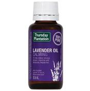 Thursday Plantation Lavender Oil 100% Pure 50ml Massage oil Calm Soothe Rrelax body & mind Improve Sleep Quality Relieve nervous 50ml