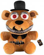 Five Nights At Freddy's Nightmare Freddie Plushie Plush Figure Standard