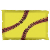 Fastpitch Softball Pillow Case Multi Standard One Size