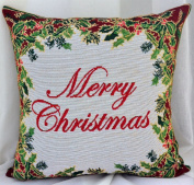Outflower Christmas Europe and The United States Retro Pattern Cotton Pillow Case Cushion Cover