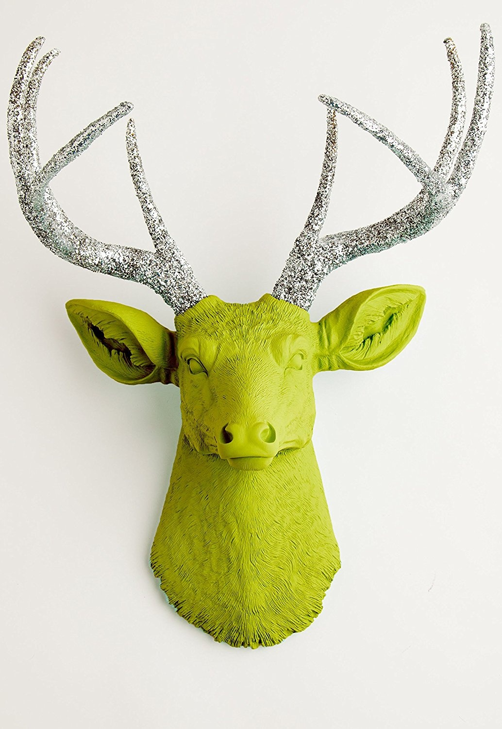 Beautiful Real Deer Head Wall Decor Pictures Inspiration - The Wall ...
