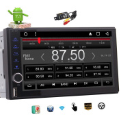 Eincar HD 18cm Nougat Android 6.0 Car Radio Double Din Stereo in Dash Capacitive Touchscreen Octa-Core GPS Sat Nav Support Wifi Bluetooth/RDS/SD/USB/OBD2 Mirrorlink /4G Car Player