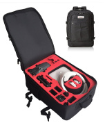 Professional Backpack for DJI Goggles and DJI Mavic - Made in Germany - Including Raincape - by MC-CASES