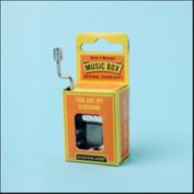 Kikkerland You Are My Sunshine Crank Music Box