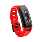 Outsta For Garmin Vivosmart HR New Replacement Soft Silicone Bracelet Strap WristBand Red