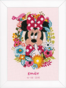 Disney's Minnie Mouse 'Shushing' Counted Cross Stitch Kit