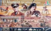 ITALERI WWII El - Alamein 'The Railway Station' 6181 1:72 Model Kit