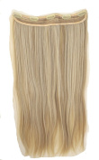 JM Fashion Supply 5Clips 60 cm Long Straight Hair Extension Hitzf Fibre 2