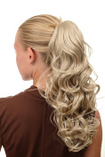 WIG ME UP ® - SA080-202 Ponytail Hairpiece curly voluminous long bright blond