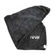 Microfibre Hand Towel with Button Hair Drying Towel Hair Turban Head Towel Hairdressing Accessories Hairdresser Needs