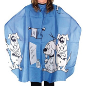 Mezzo - Child's Hairdressing Cape - Doggy Cut Blue