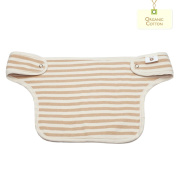 Aryko Baby Drool Pad for Carrier 100% Organic Cotton Gentle & Soft for Sensitive Baby Skin Great Absorbent - Brown Stripe