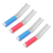 Portable 2Pcs Folding Washable Sticky Picker Cleaner Lint Roller Clothing Removal Device Pet Hair Remover Brushes