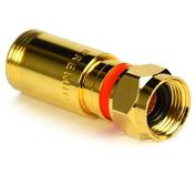 10 x G4 PremiumX Compression XCon F-Kompressionsstecker 7–7.5 MM for Satellite Cable Coaxial Cable 130 dB 135db