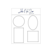 John Next Door - John Lockwood Media Gel Plates - Set of 4