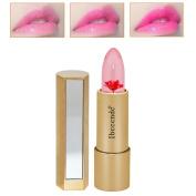 RNTOP Magic Jelly Flower Lipstick Colour Temperature Change Moisturiser Bright Lip Balm