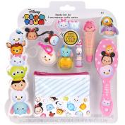 TownleyGirl Disney's Tsum Tsum Cosmetic Set with lip balm, gloss, hair ties, brush, nail polish and more