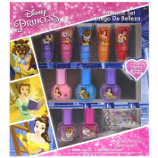 TownleyGirl Disney's Princess Beauty and the Beast Cosmetic Set with lip gloss, nail polish and nail stickers