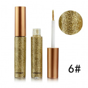 Smoky Eyeshadow,vmree Metallic Shiny Waterproof Glitter Liquid Eyeliner