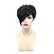 Short Hair African Hair, Luversco Europe and the United States Wigs Female Black Fashion Short Hair African Hair