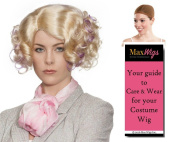 Fee Trinket Hunger Colour Blonde / Lavender - Enigma Wigs Women's Effie Banks Games Futuristic Bundle with Wig Cap, MaxWigs Costume Wig Care Guide