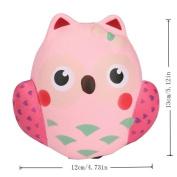 Kfnire 14cm Squishies Jumbo Slow Rising Kawaii Sweet Squishies Owl Charm Animal Decompress Toy