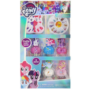 TownleyGirl My Little Pony Nail Art Set with nail polish, nail gems, nail file and cuticle stick