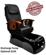 Shiatsulogic Pedicure Spa VIGGO 5103 BLK NO PUMP Pedicure Chair