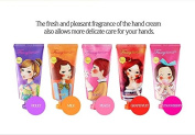 Fascy 5 Delicious Flavour Hand Cream Set to Pamper Your Hands : Violet, Grapefruit, Peach, Milk, Strawberry