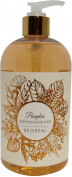 Hand Wash by Commonwealth Soap & Toiletries - Holiday Foil Shimmer Leaves Scented Liquid Soap 470ml