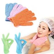 JD Million shop New Arrival Moisturising Spa Bath Shower Gloves Bathwater Scrubbing Bath Exfoliating Gloves For showering Shower Gloves M01931