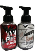 Bath & Body Works Gentle Foaming Hand Soap Vampire Blood and Spooktacular Bundle