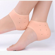 Massage Gel Socks Silicone Moisturising Gel Heel Socks Cracked Foot Skin Care Protector
