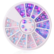 Rhinestones for Nails 3D Crystal Glitter Nail Accessoires Nail Art Rhinestones Glitters Acrylic Tips Manicure Wheel Decorations