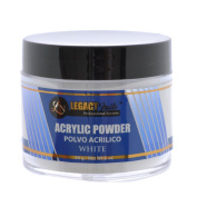 Legacy Nails White Acrylic Powder 60ml