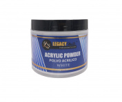Legacy Nails White Acrylic Powder 120ml
