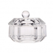 Nail Art Glass Acrylic Dappen Dish Bowl Cup Liquid Powder Cup Glassware Tool Nail Art Equipment tools # 3