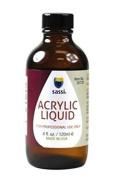 Sassi Acrylic Liquid MMA-Free formulation : Size 4 Oz / 120 Ml