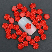 3D nail art decoration DIY charm jewellery nail design resin nail stud tips nail sticker accessories