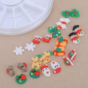 12 style Fimo Christmas gift Acrylic UV Gel Nail Art Wheel